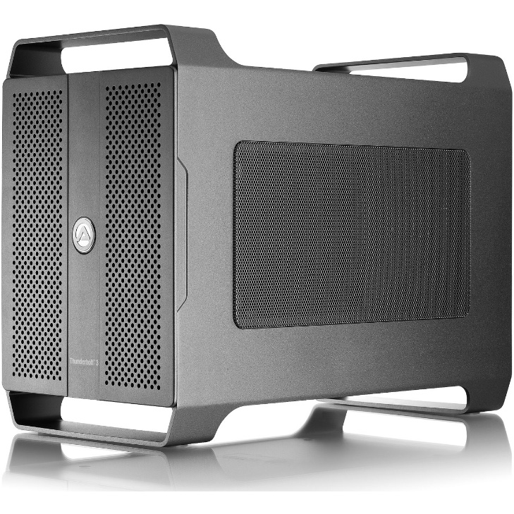AKiTiO Node Duo-Thunderbolt 3-2x halve lengte PCIe kaarten (geen Windows)